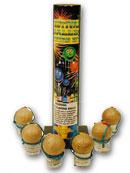Ракета с деревянным хвостом-стабилизатором