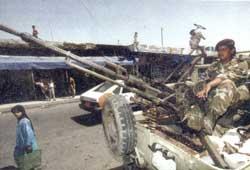 Одиночная зенитная пулеметная установка с 14,5-мм пулеметом Владимирова КПВ