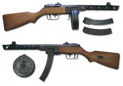 Пистолеты-Пулеметы 40-вых (МП40, МП41, ППШ, ППС)
