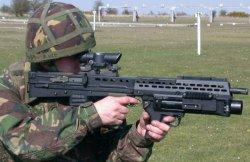 Штурмовая винтовка  Enfield SA-80: L85A1 и L85A2