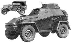 БА-64 — легкий полноприводный бронеавтомобиль