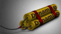 Взрывчатые вещества  - Динамит