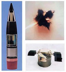 155-мм кассетный снаряд BONUS с самоприцеливающимся боевым элементом