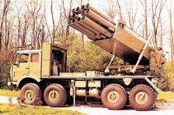 262-мм реактивная система залпового огня M87 Orkan