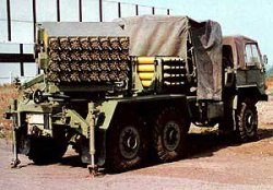 128-мм реактивная система залпового огня M63 Plamen