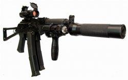 9мм пистолет-пулемет ПП-19-01 «Витязь»