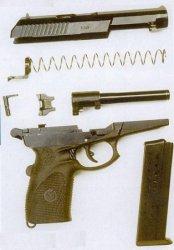 9-мм пистолет СПС (Г055, СР-1 «Вектор», «Гюрза»)