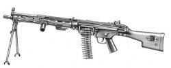 "Пулемёты ""Хеклер и Кох"" HK21 и HK23"