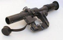 Прицел стрелковый оптический ПСО-1