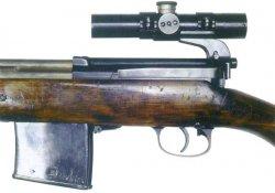 Снайперская самозарядная винтовка СВТ-40