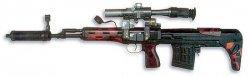Снайперская винтовка укороченная ОЦ-03