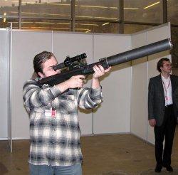 Бесшумная крупнокалиберная снайперская винтовка ВССК  Выхлоп