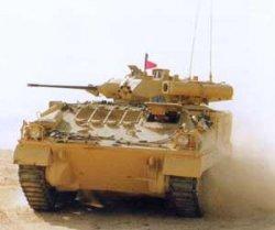 Боевая машина пехоты Уорриор, GKN