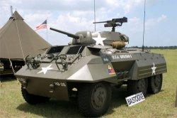 Колёсная бронемашина (бронеавтомобиль) M8