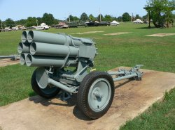 Пусковая установка Nebelwerfer 41