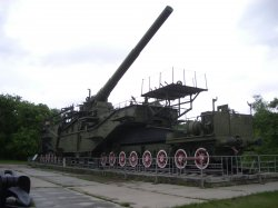 305-мм железнодорожная установка ТП-1