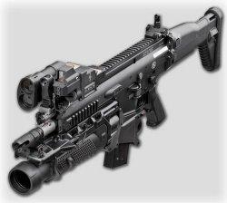 Прицельная система для 40-мм гранатомета FN FCU