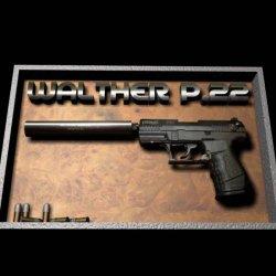 Десятизарядный малокалиберный Walther P22